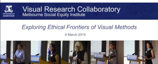 Visual research ethics symposium videos